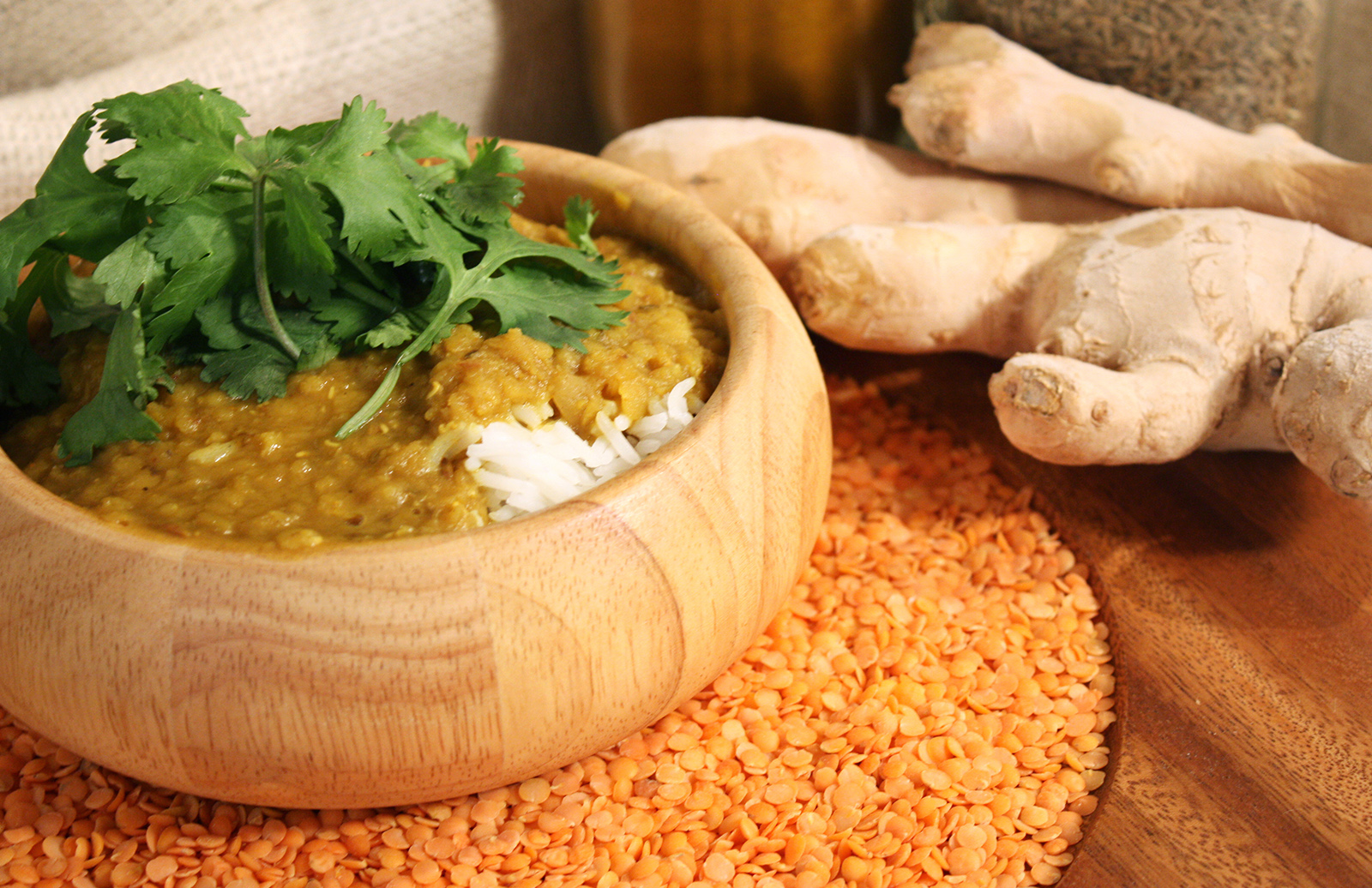 Curried Red Lentil Dhal by Chef Michael Smith | Lentils.ca