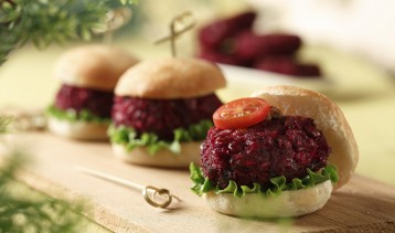 Beet and Lentil Sliders 4