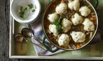 Chicken & Lentil Dumpling Soup 1