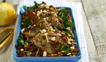 Greek Slow-Cooker Chicken & Lentils 5